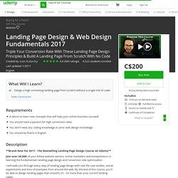 Landing Page Design & Web Design Fundamentals 2017
