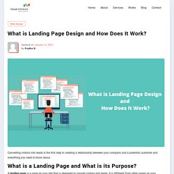 What is Landing Page Design and How Does It Work?