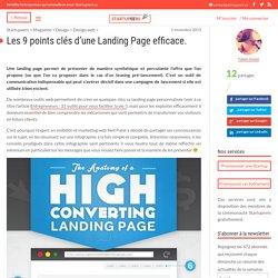 Les 9 points clés d'une Landing Page efficace. - Startupeers