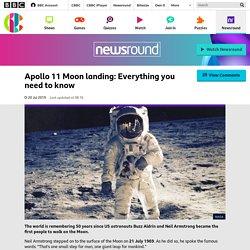 Apollo 11 Moon landing: Everything you need to know - CBBC Newsround