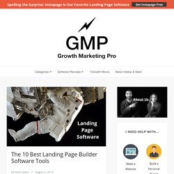 The 10 Best Landing Page Builder Software for Every Business [2019]