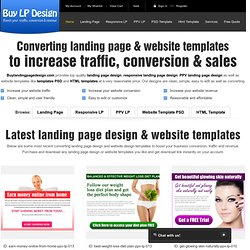 Buy now coded landing page design for sale on semanticlp.com