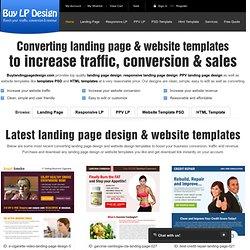 buy landing page design