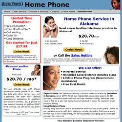 Local Home Phone Services Alabama