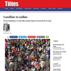 Landline to online