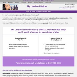 My Landlord Helper is rated the best way to communicate with your tenants and collect rent!