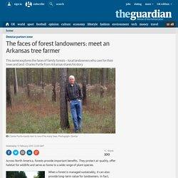 The faces of forest landowners: meet an Arkansas tree farmer