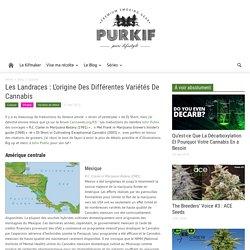 Les Landraces : L'origine Des Différentes Variétés De Cannabis