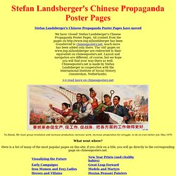 Stefan Landsberger's Chinese Propaganda Poster Pages