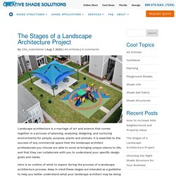 The Stages of a Landscape Architecture Project