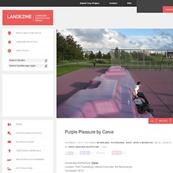 Landezine » Purple Pleasure by Carve