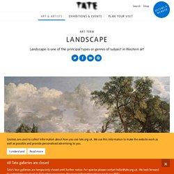 Landscape – Art Term