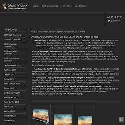 Sands of Time- Buy Landscape & Wild life Calendars Online