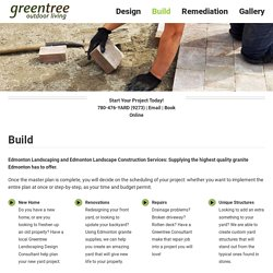 Landscape Construction Services in Edmonton