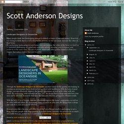 Scott Anderson Designs: Landscape Designers In Oceanside