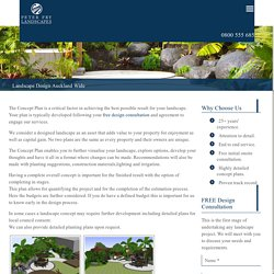 Landscape Garden Designs // Peter Fry Landscaping Auckland North Shore