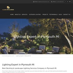 Best Landscape Lighting Specialist