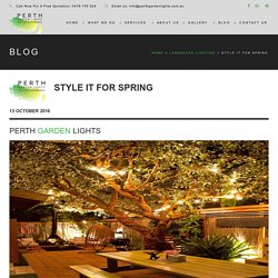Top 5 LED Landscape Lighting Tips for Spring