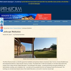 Landscape Meditation - Faith & Form