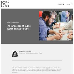 The landscape of public sector innovation labs
