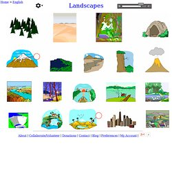 Landscapes - English Vocabulary