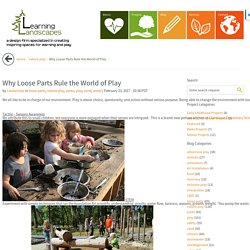 Why Loose Parts Rule the World of Play - Learning Landscapes - Professional Playscape Design in Portland, OR