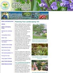 Planning Your Landscaping 101 (National Gardening Association)