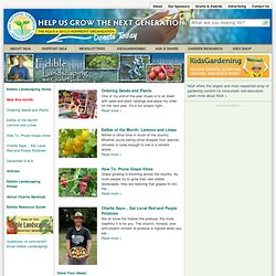 Edible Landscaping With Charlie Nardozzi