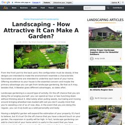 How To Make Attractive Garden With Landscaping in Bromley