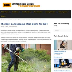 12 Best Landscaping Work Boots Reviewed and Rated in 2021