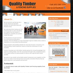 Timber Fencing, Decking, Landscaping, Building Products & Fencing Supplies