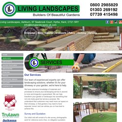 Landscaping Solutions Folkestone, Firestone Paving Services Canterbury