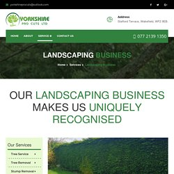 Landscaping Business Yorkshire
