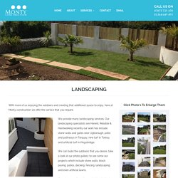 Landscaping Specialists in South Hams, Ashburton, Newton ferrers, Torbay
