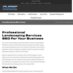 Landscaping SEO & Website Design Services