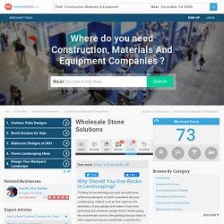 Wholesale Stone Solutions in Escondido, CA 92026