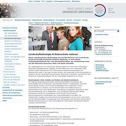Landschaftökologie & Naturschutz (Bachelor)-Ernst-Moritz-Arndt-Universität Greifswald