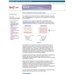 LandSil: Física: Los cinco estados de la materia: Explicación a través del concepto de ondas