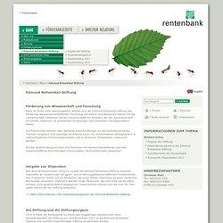 Landwirtschaftliche Rentenbank: Edmund Rehwinkel-Stiftung