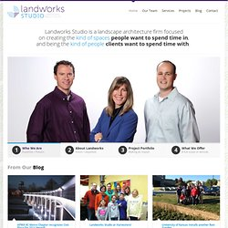 Landworks Studio, LLC landscape architecture firm