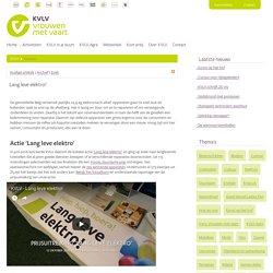 Lang leve elektro! > KVLV > Nieuws