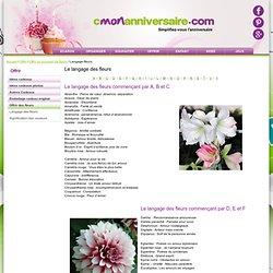 Langage-fleurs