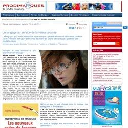 Le langage au service de la valeur ajoutée - Jeanne Bordeau