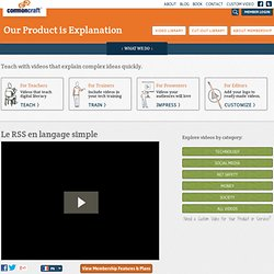Le RSS en langage simple