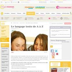 Le langage texto de A à Z