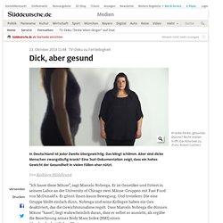 """TV-Doku """"Dicke leben länger"""" auf 3sat - Medien"""