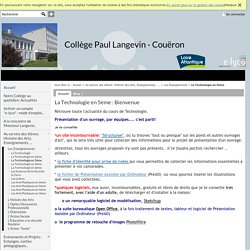 Collège Paul Langevin - Couëron - La Technologie en 5ème : Bienvenue