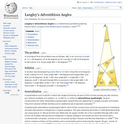 Langley's Adventitious Angles - Wikipedia