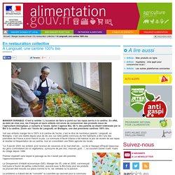 ALIMENTATION_GOUV_FR 02/09/14 A Langouët, une cantine 100% bio