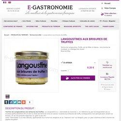 Terrine de langoustine, terrine de poisson, vente terrine crustacé, épicerie fine - E-gastronomie